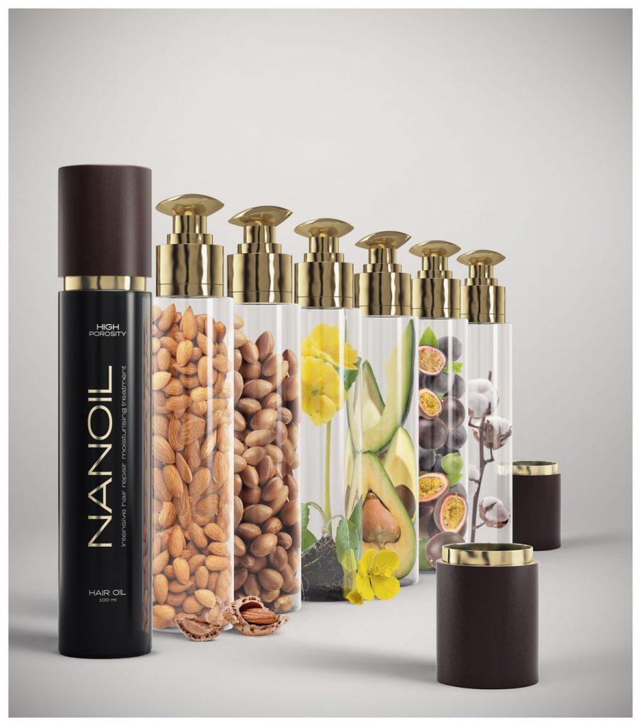 Combinacion innovadora de aceites naturales